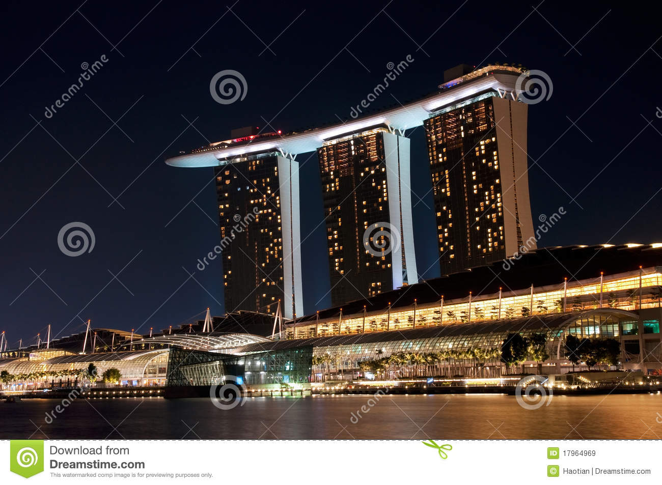 Singapore Golden Sands Casino Royalty Free Stock Images.