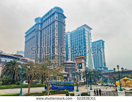 Macao Skyline Stock Photos, Royalty.