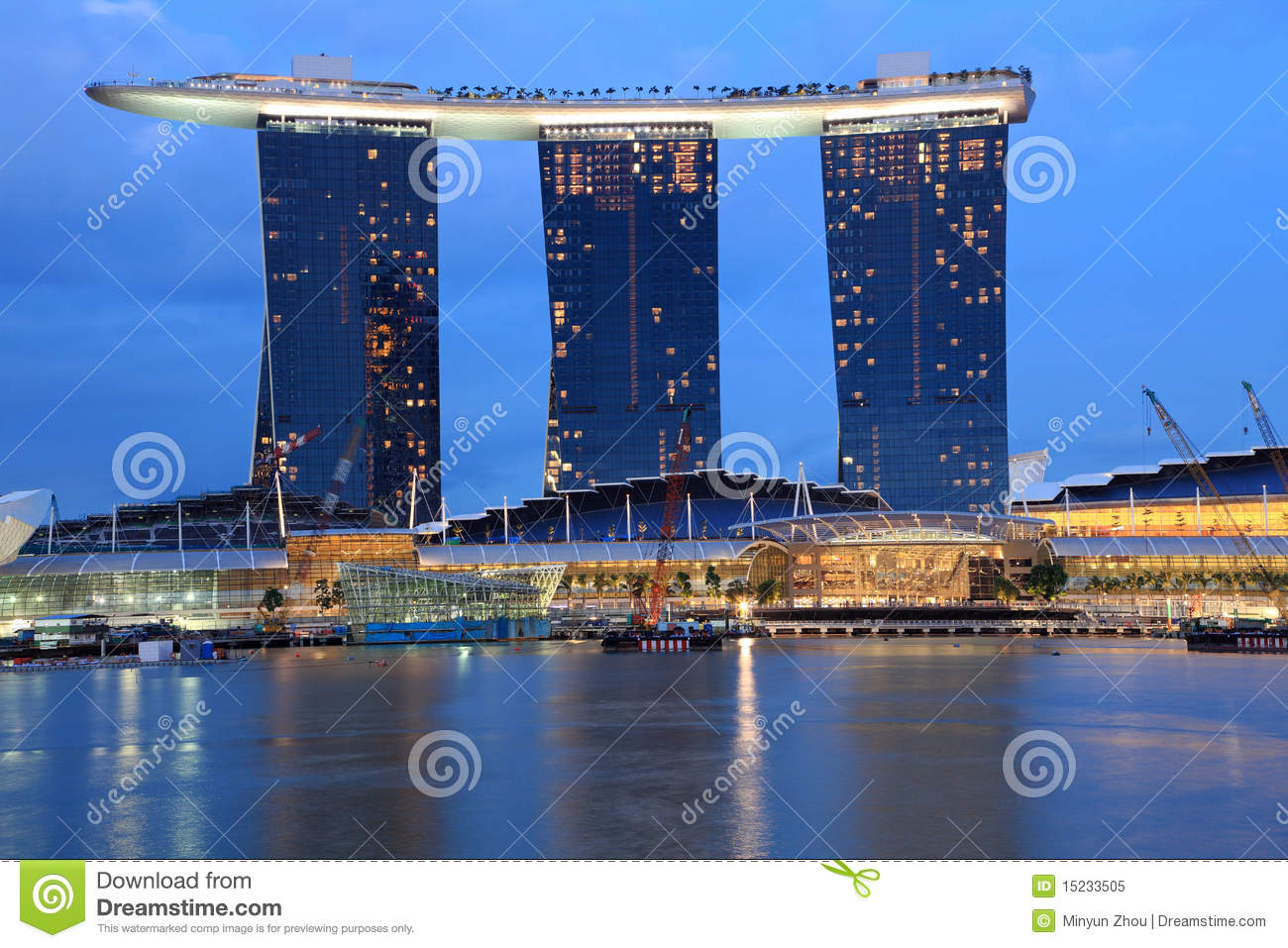 Gold Sand Casino Singapore Stock Photos, Images, & Pictures.