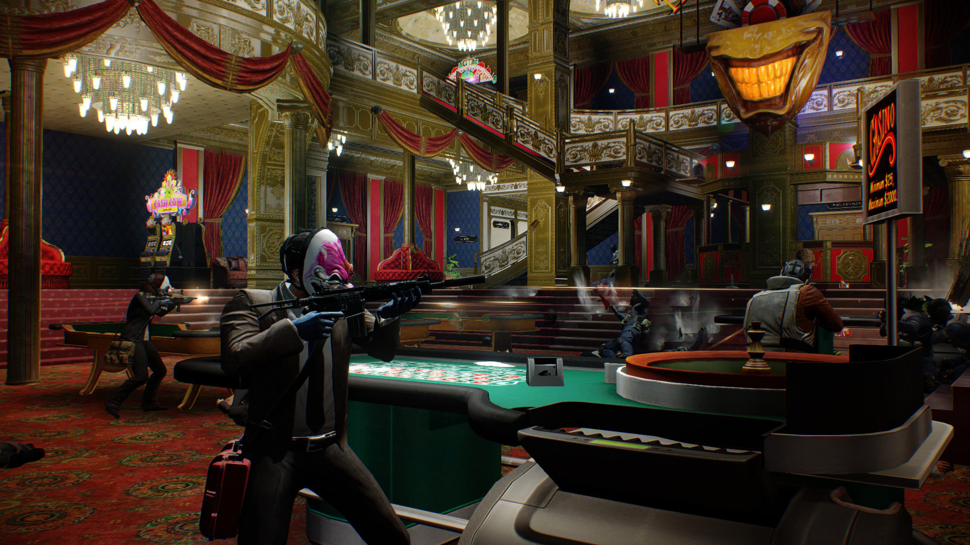 PAYDAY 2: The Golden Grin Casino.