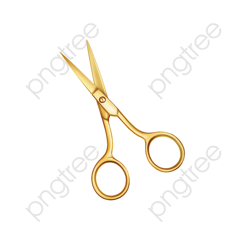 A Gold Scissors, Scissors, Tool, Yellow PNG Transparent Image and.