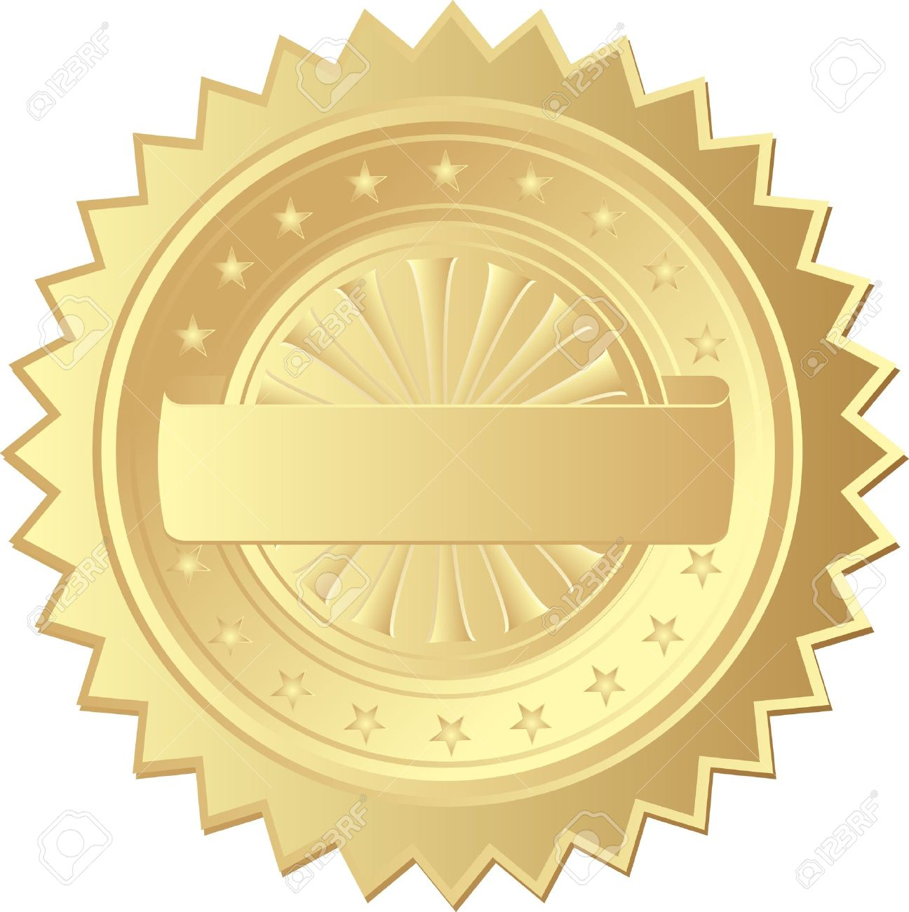 Gold Seal Royalty Free Cliparts, Vectors, #467684.