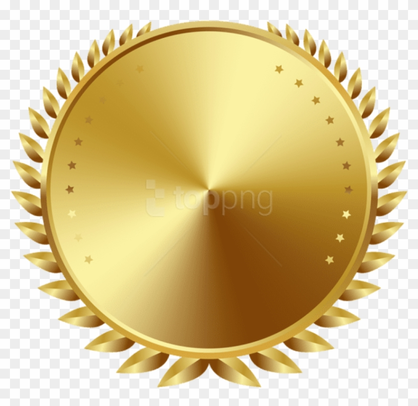 Free Png Download Seal Badge Gold Clipart Png Photo.