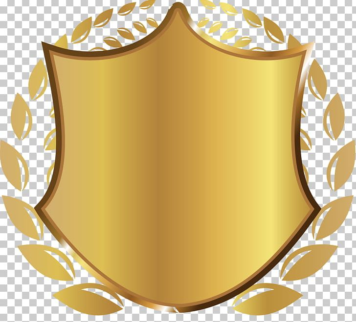 Gold Shield Rice PNG, Clipart, Atmosphere, Badge, Download.