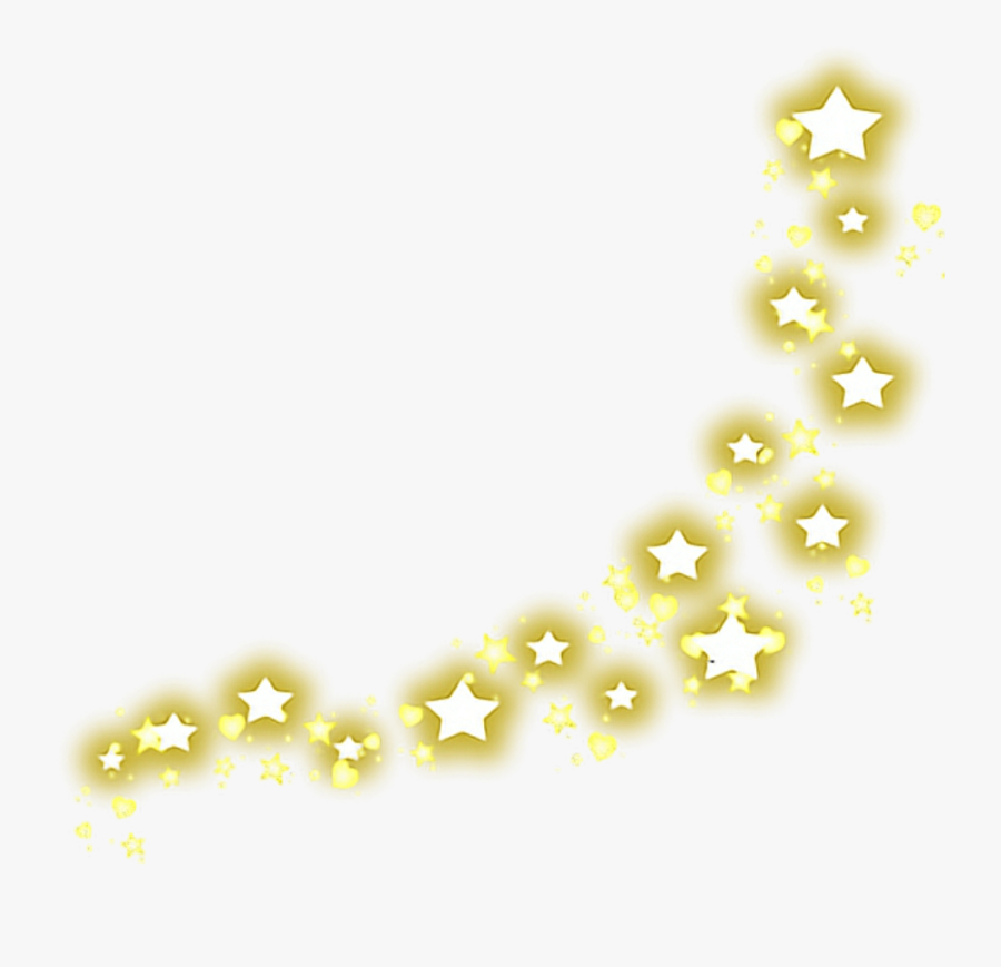 Transparent Yellow Shine Png.