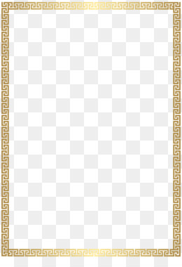 Gold Square PNG.