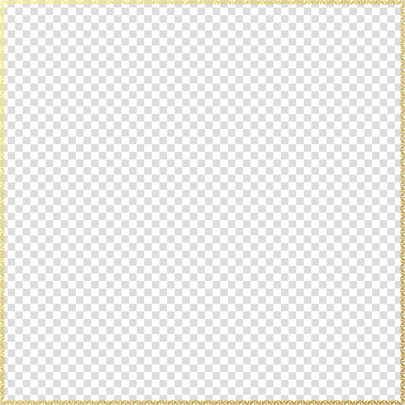 Gold frame sticker, Square Area Angle Pattern, Gold frame.