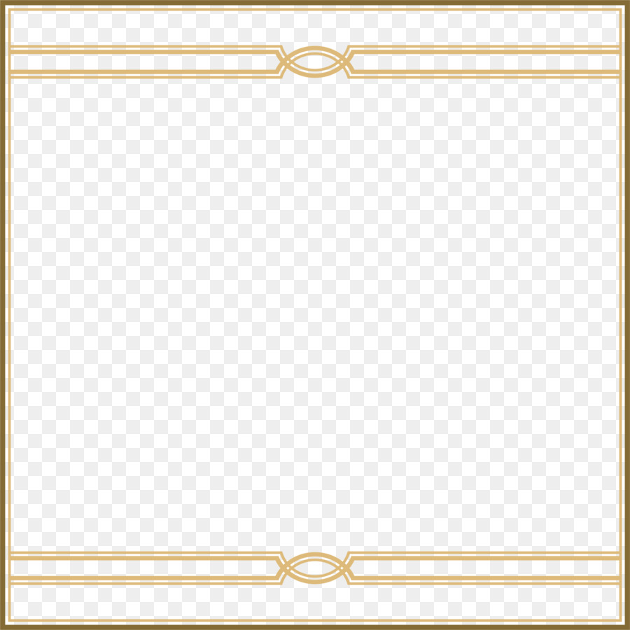 Gold Square png download.