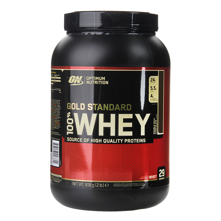 Whey Protein Gold Standard.
