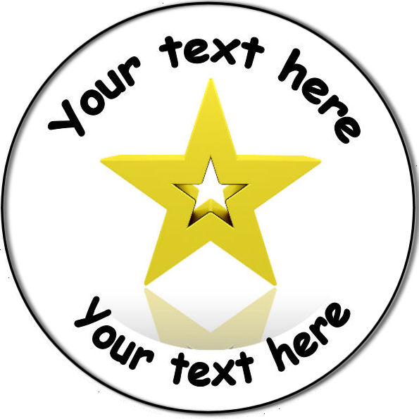 Clipart gold star award.