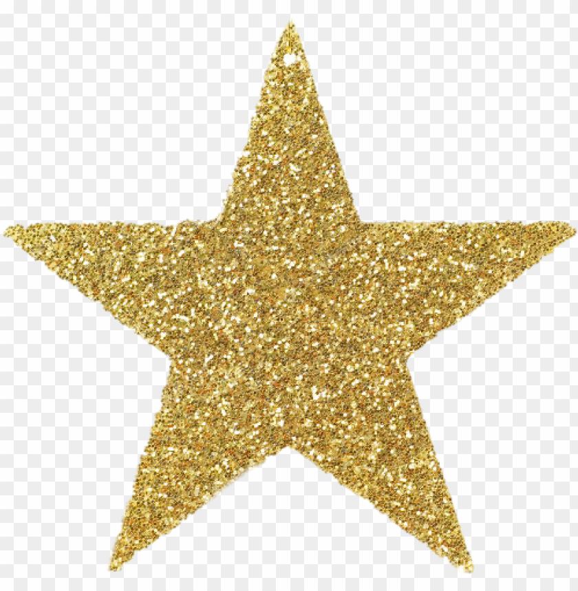 litter gold star clipart PNG image with transparent.