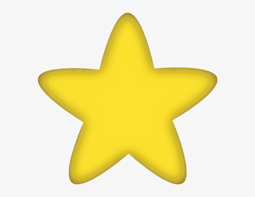 Gold Star Clipart No Background.