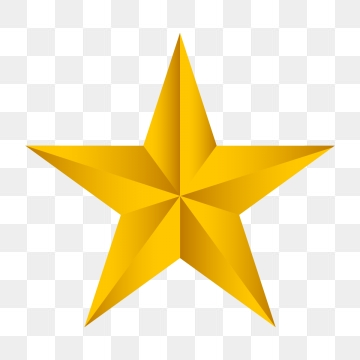 Gold Star Png, Vector, PSD, and Clipart With Transparent Background.