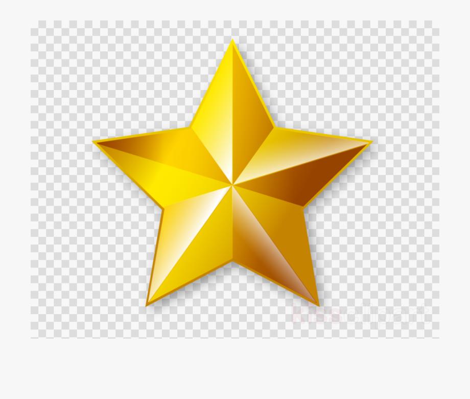 Golden Star Png.