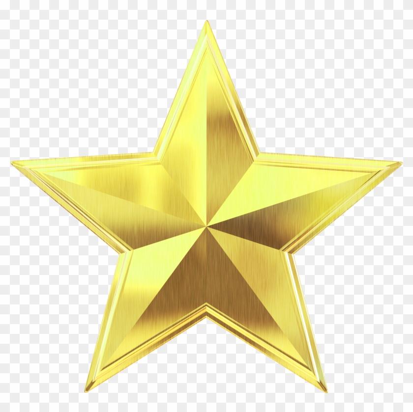 Download Gold Star Png Transparent Image.