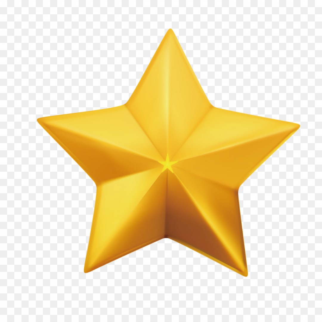 Png Star Vector Balls Free Icon Vector Gold Five Point.