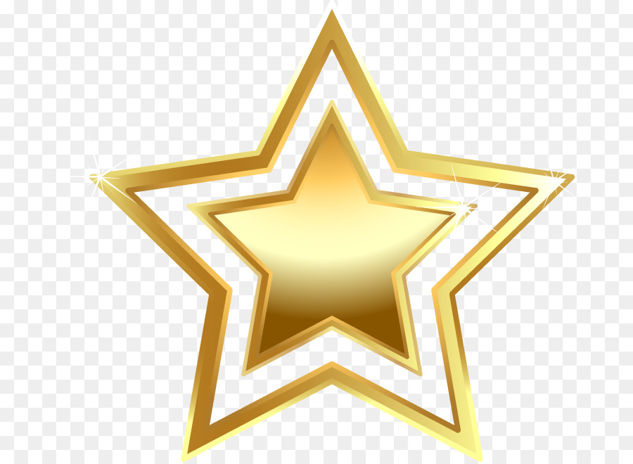 Gold Stars png download.