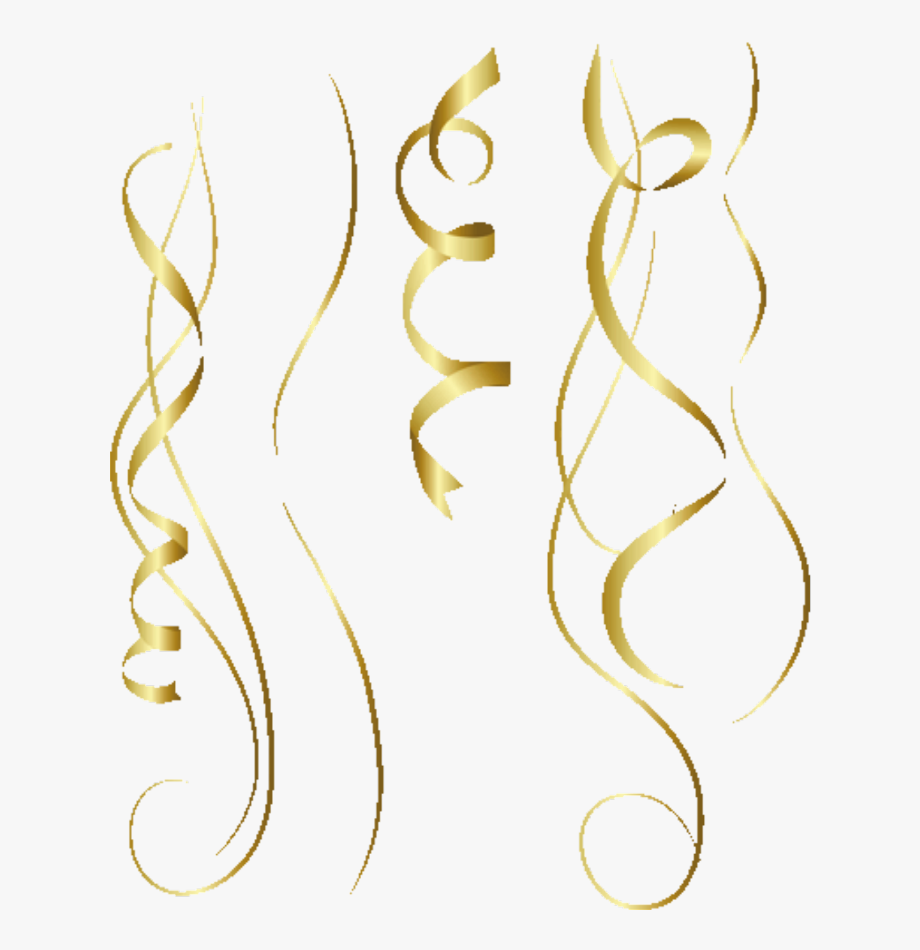 gold #party #confetti #streamers @simonevdw.