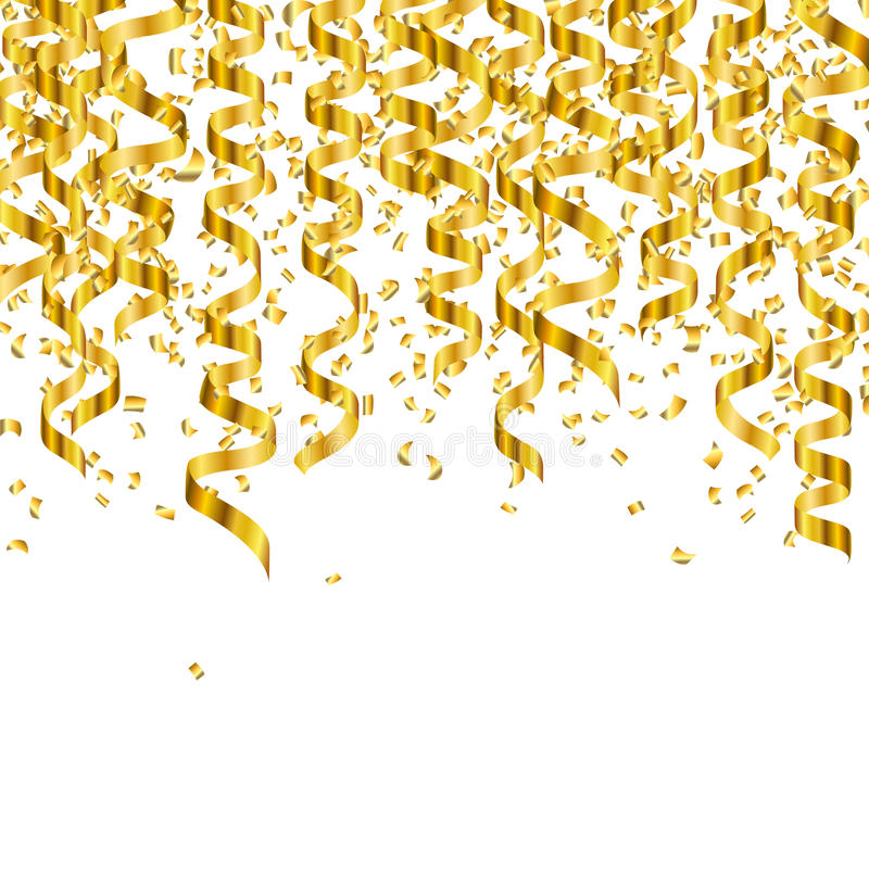 Gold Streamers Png (110+ images in Collection) Page 1.