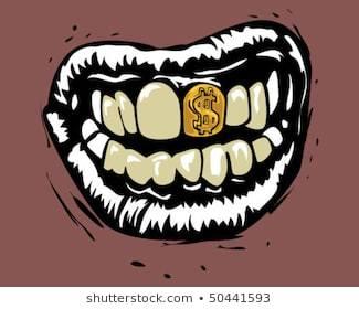 Gold teeth clipart 4 » Clipart Portal.