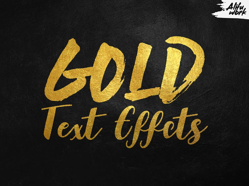 34 Best Gold Text Photoshop Effects (And Other Metallic Effects).