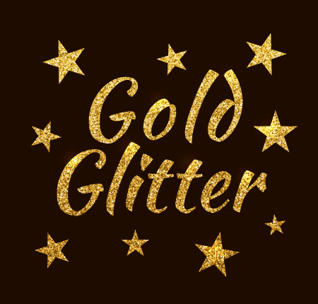 How to Create a Gold Glitter Texture with Stipplism in Adobe.