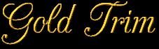 Gold Trim Text Generator.