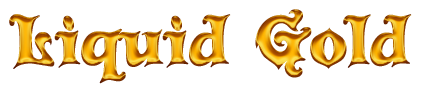 Liquid Gold Text Generator.