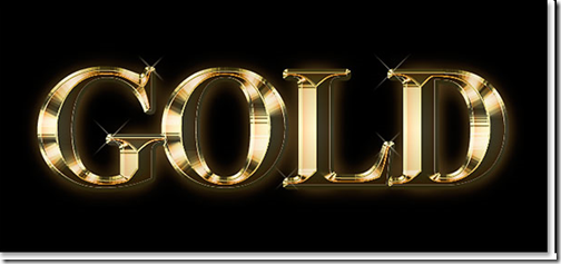 45 Dazzling Gold Text Effect And Gold Look Tutorials.