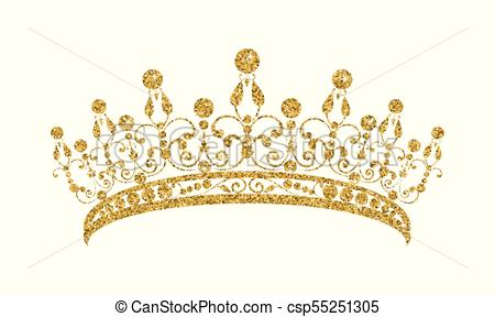 Gold tiara clipart 4 » Clipart Station.