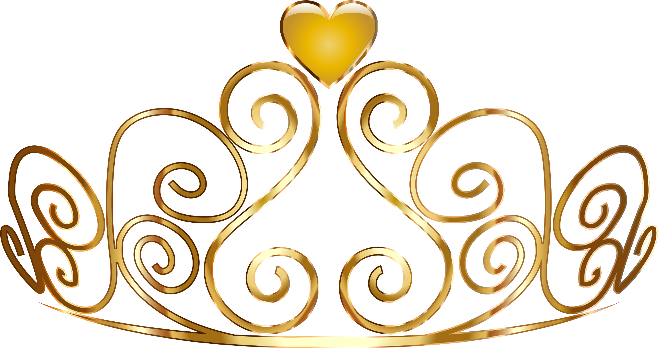 Gold tiara clipart clipart images gallery for free download.