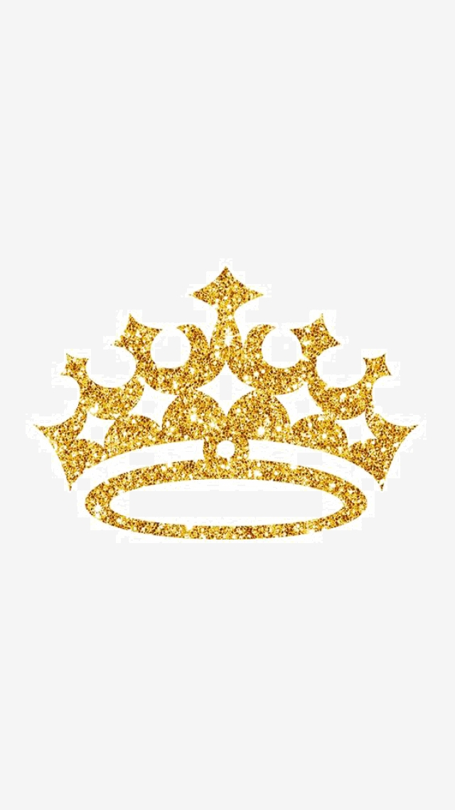 Golden Spot Crown, Crown Clipart, Crown, King PNG Transparent Image.