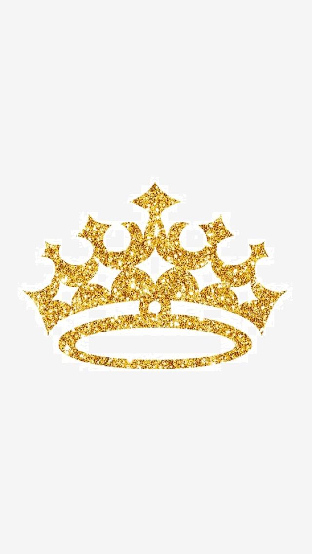 Golden Spot Crown, Crown Clipart, Crown, King PNG Transparent Image.