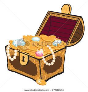 Gold Treasure Clipart.