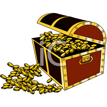 Gold Treasure Clipart.