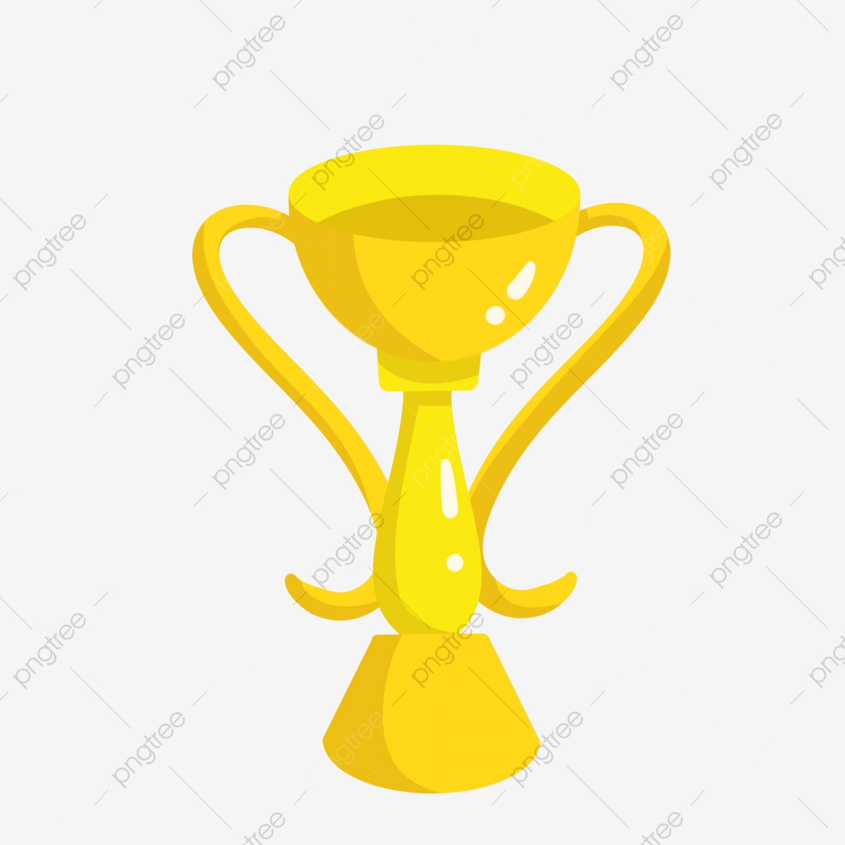 Beautifully Gold Trophy, Trophy Clipart, Gold Trophy PNG Transparent.