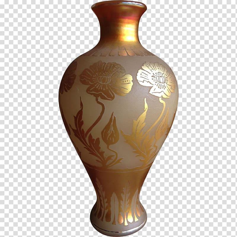 Vase Corning Museum of Glass Art Nouveau Art Deco, vintage.