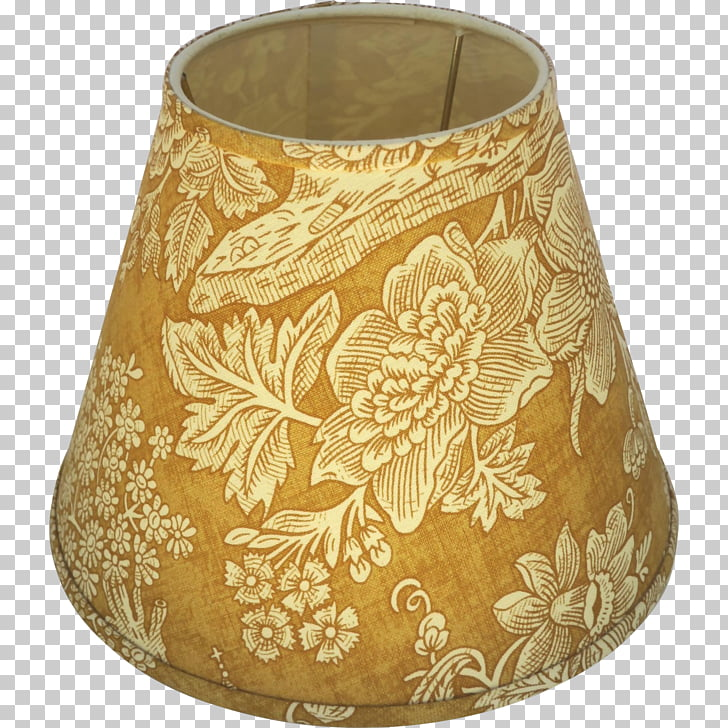 Lamp Shades Light fixture Gold Vase, PNG clipart.