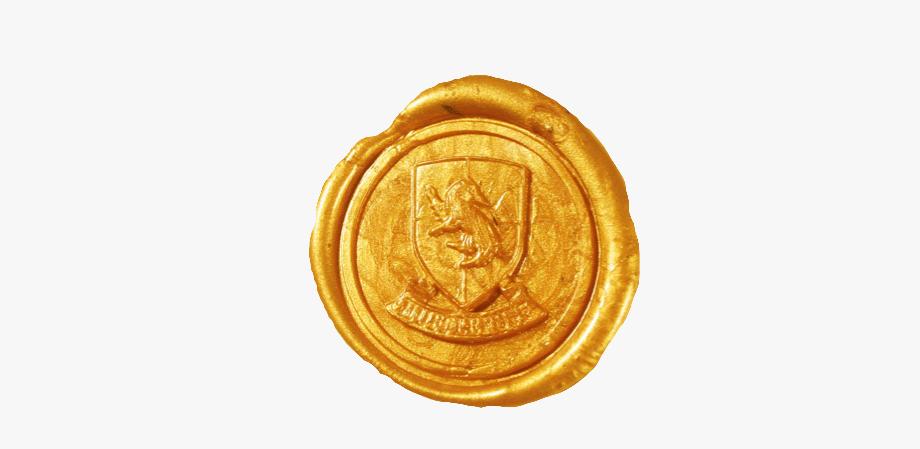wax #seal #hufflepuff #hogwarts #freetoedit.