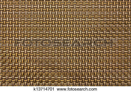 Stock Photography of Gold Weaving background k13714701.