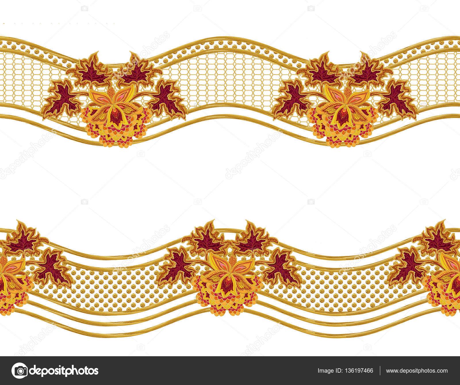Gold weaving clipart #2