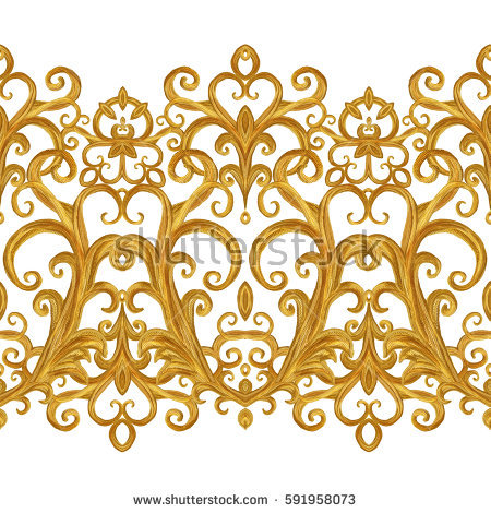 Golden Weave Framed Stock Photos, Royalty.