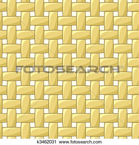 Clipart of Abstract seamless weaving pattern k3462031.