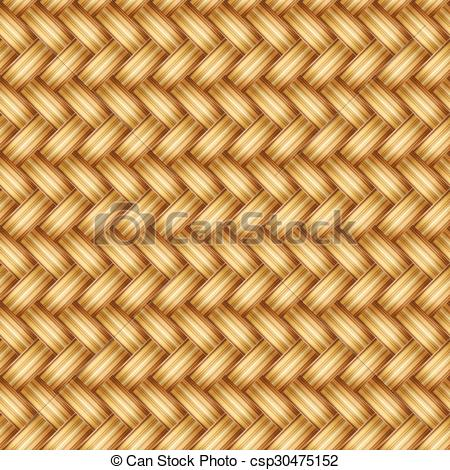 Clipart Vector of Seamless weaving csp30475152.