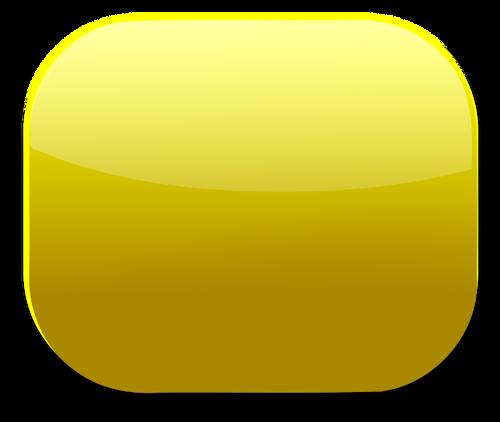 Golden web button vector clip art.
