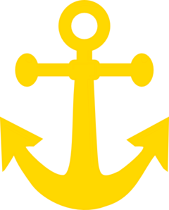 Dark Yellow Anchor Clip Art at Clker.com.