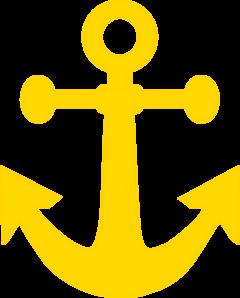 Dark Yellow Anchor Clip Art at Clker.com.