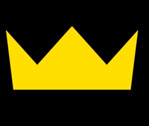 Yellow Gold Crown Clip Art at Clker.com.
