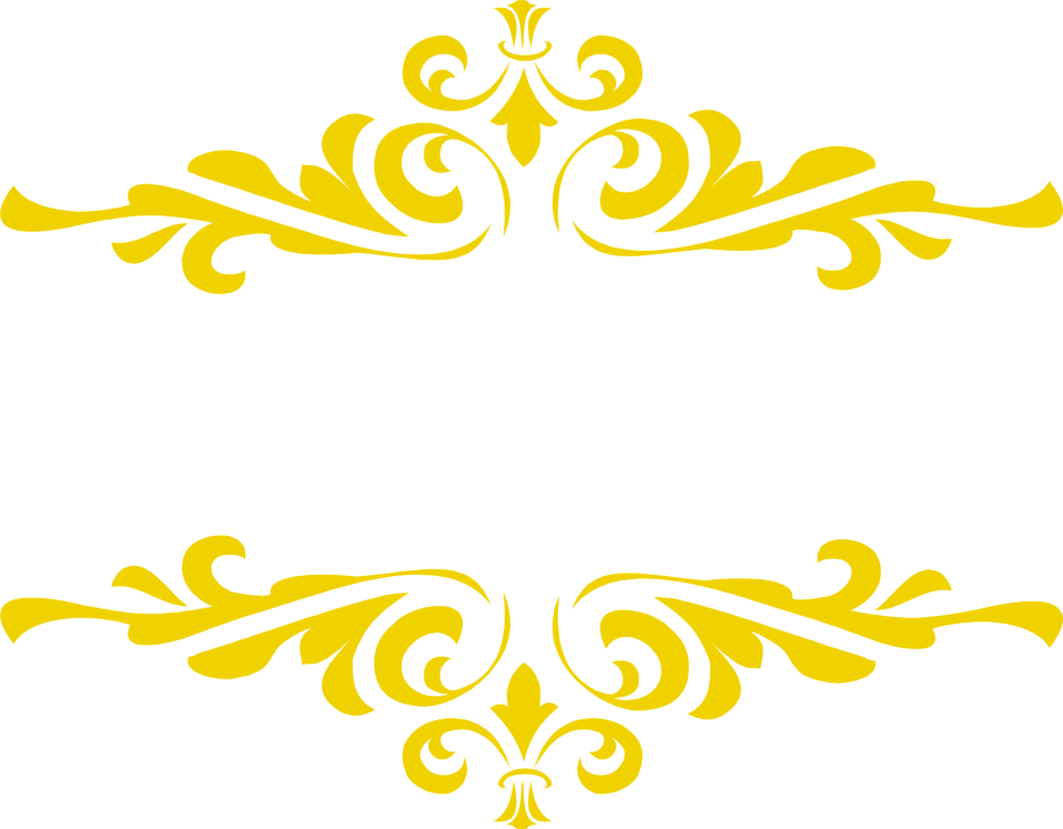 Gold yellow flowers clipart #10