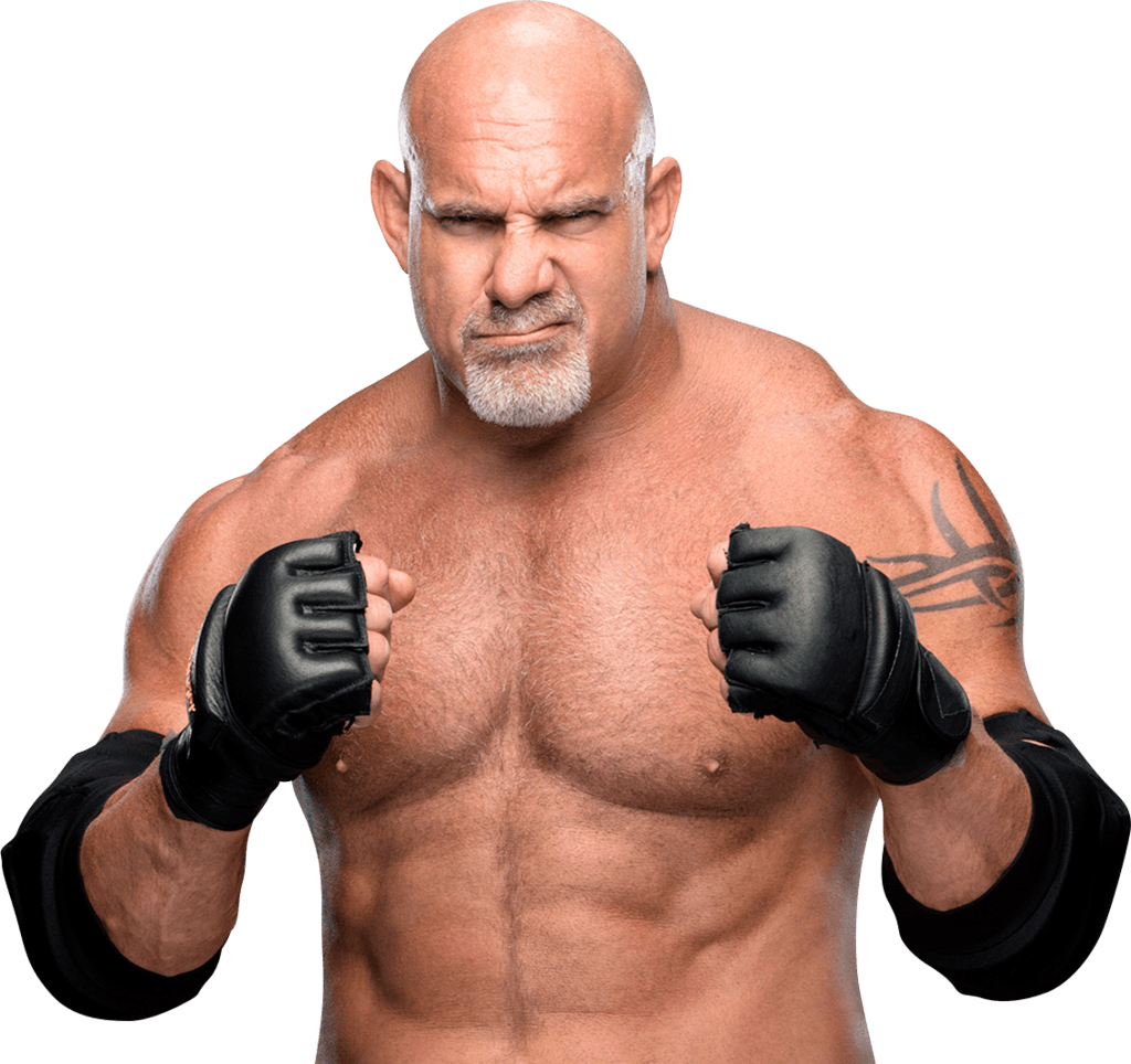 Bill Goldberg Ready To Fight transparent PNG.